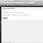 A settings page for this plugin.