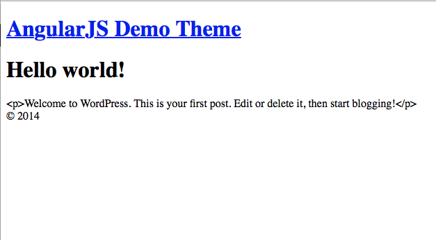 Screenshot 5 from Using AngularJS and JSON API in your WordPress theme